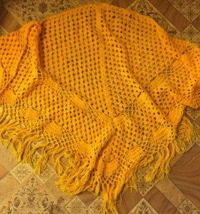 Вязанный платок