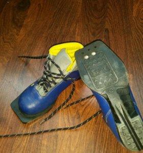 Ботинки лыжные 34р
