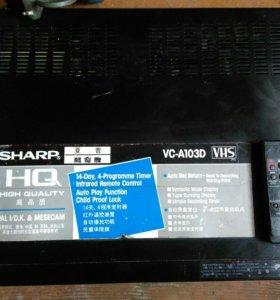 Видео магнитофон SHARP