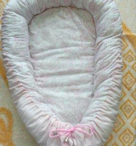 Уютное гнездышко для малыша. Новое. Ручная работа