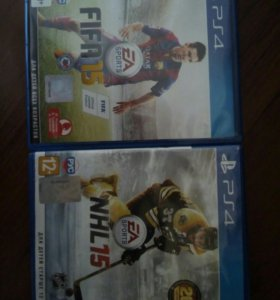 FIFA'15 и NHL'15