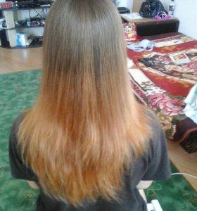 Прически и окрашивание волос