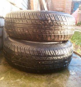 Продам шины с литыми дисками маршал