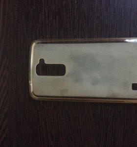 Силиконовый чехол для LG K10