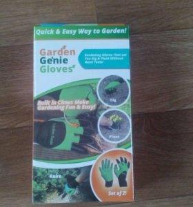 Садовые перчатки с наконечниками!