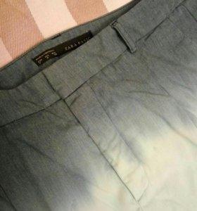 Красивые брюки Zara с градиентом