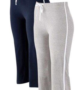 """Спортивные брюки-капри, с эффектом """" стретч,р48-50"""