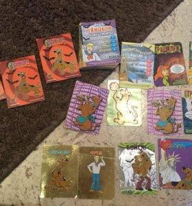 Карточки Скуби-ду