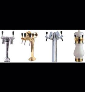 Пивные башни, пивные кобры на 2 сорта пива