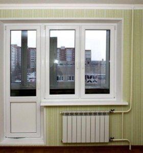 Металлопластиковые окна-двери-балконы