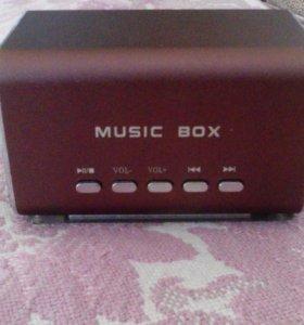 Портативная колонка Music Box