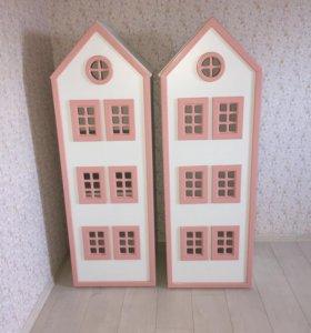 Шкафчики для девочки.