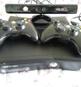 Xbox 360 slim 4 gb + kinect.