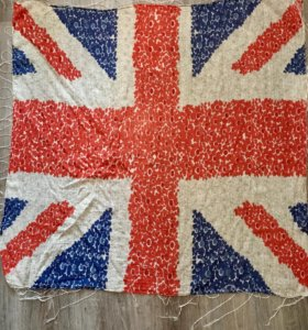 Платок с английским флагом из Лондона