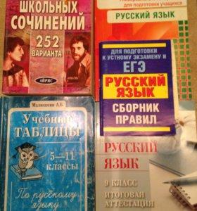 Книги ЕГЭ/русский язык