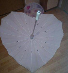 Зонт трость 💓