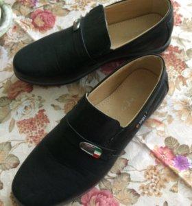 Ботинки туфли НОВЫЕ обувь для мальчика