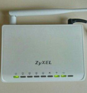Интернет центр ZYXEL NBG334W EE новый