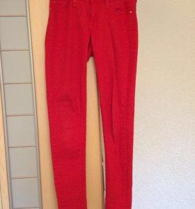 Красные джинсы Mango новые
