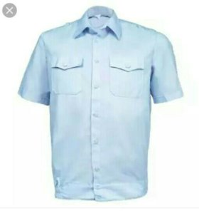 Рубашка полиции короткий рукав с липучкой