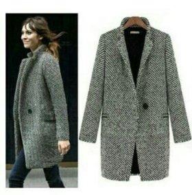 Демисезонное пальто oversize Размер 44