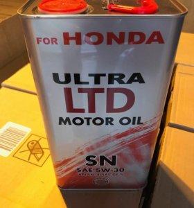 Моторное масло Honda 5W-30 4L