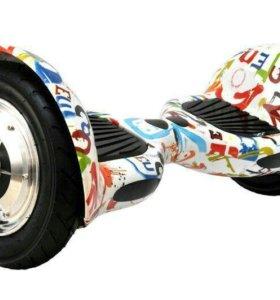 Гироскутер Smart Balance Wheel SUV 10 Белое граффи