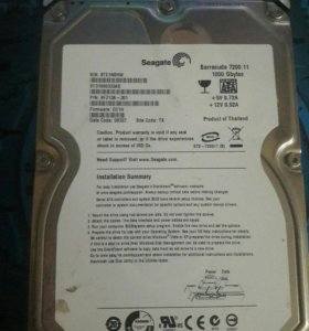 Жёсткий диск Seagate 1000 Гб