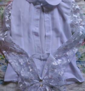Блузки на девочку