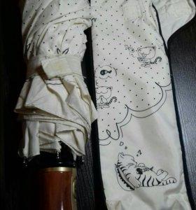 Зонт с кошечками, очень красивый