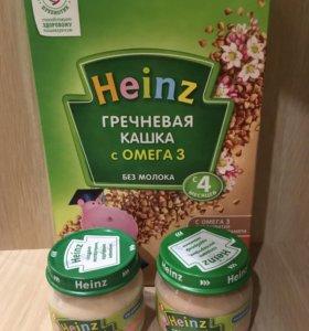 Каша и пюре Heinz