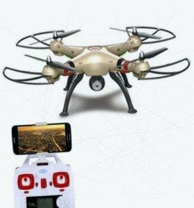 Квадрокоптер с барометром и онлайн камерой новый