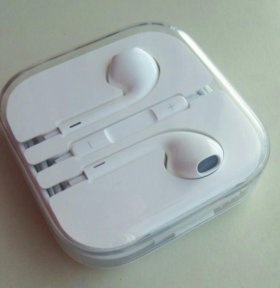 Новые оригинальные наушники для айфон