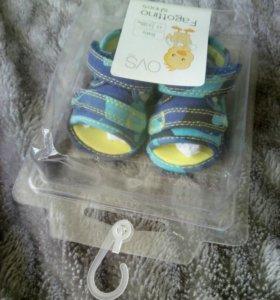 Сандалики для малыша, OVS, Италия