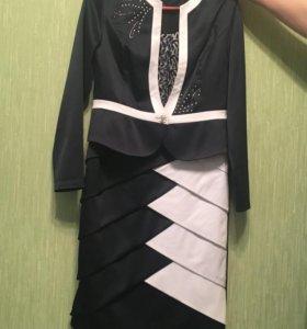 Платье двойка,50 размер