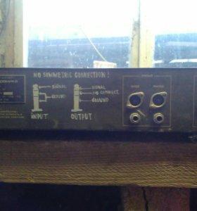 эквалайзер элекроника э-06