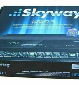 🔴 Спутниковый ресивер skyway nano 3