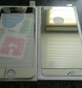 стекла Iphone 6,6s. хром