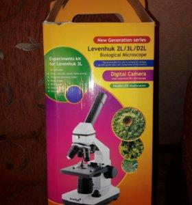 Микроскоп Levenhuk 2L New Generation series.