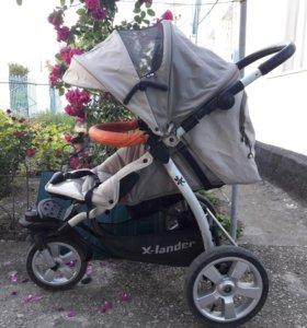 детская коляска X-lander 2 в 1