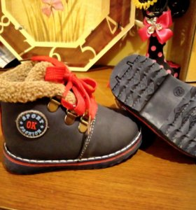 Ботинки на осень,теплую зиму