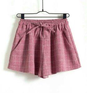 Женские шорты 100% хлопок