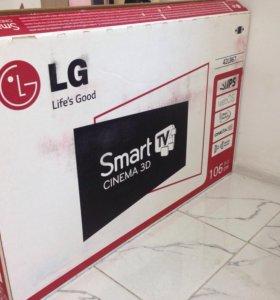 Новый LG Smart TV 3D