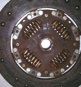Passat b3 корзина и диск сцепления