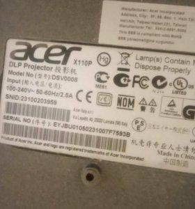 Проектор Acer x110p