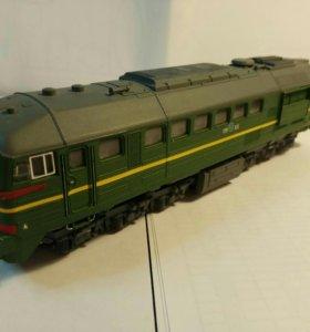 Модель локомотива М62 СЖД