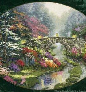 Набор для вышивания Тихий мостик Candamar 51170