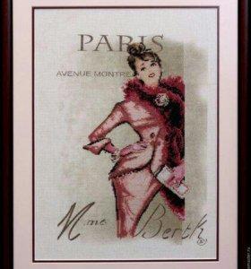Набор для вышивания Светский Париж Vervaco 75202