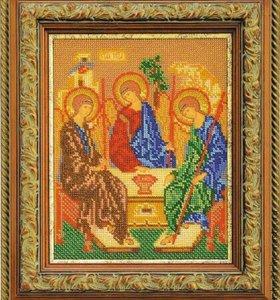 Набор для вышивания Святая Троица Кроше В-167