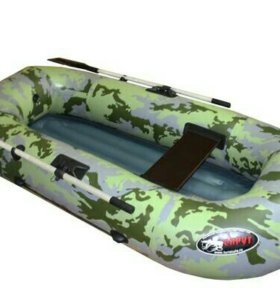 Надувная лодка ПВХ Спрут-1.5 нд, надувное дно